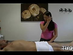 Breathtaking enjoyment from replaces massage