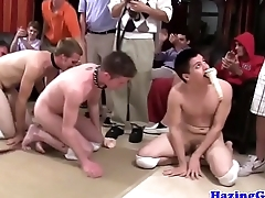 Hazing college students becoming fucktoys