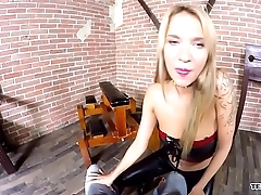 VR Angel Piaff fucking with pain and pleasure