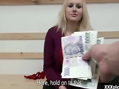 Czech Teen Amateur Slut Fucks In Mention For Euros 05