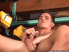 Straight twink sucking dick and wanking absent