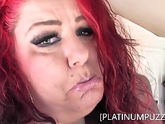 BBW MILF PLATINUM PUZZY MASTURBATES IN PUBLIC PARKING LOT