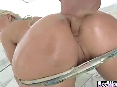 Chunky Butt Oiled Girl (britney amber) Get Anal Hardcore Sex On Camera movie-10