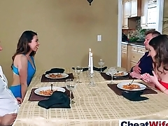 Superb Wife (melissa riley) Cheats On Camera IN Hard Germane to Action movie-20