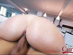 Brunette With A Beautiful Big Ass Gets Fucked - TeensWithCurves.com