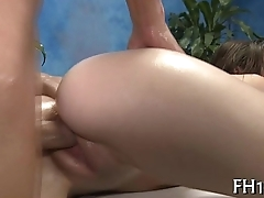 Sexual rub-down vids