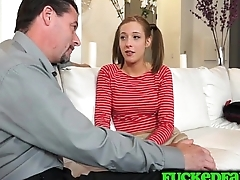 Teen Molly Manson needs to execrate set straight with a hard cock