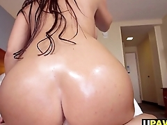 Hot Alexa Pierce bounces her big ass on dick