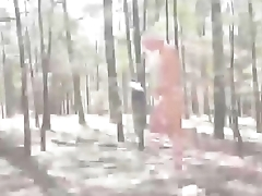 Blondie Teen workout naked in the forest - more on DigitalTeenPorn.com