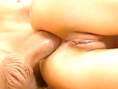 Blonde Teen Double Penetrated by cock and dildo - more on DigitalTeenPorn.com