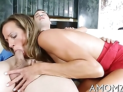 Red hot mamma wants for orgasm