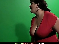He cheats with busty plumper