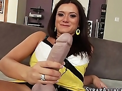 Asian domina strapon fuck