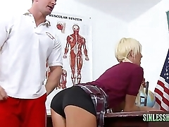 Willow loves detention sex there teacher