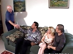 White MILF Enjoyed the Cock of a Stranger