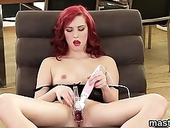 Scheming czech widely applicable stretches her tight pussy to the special