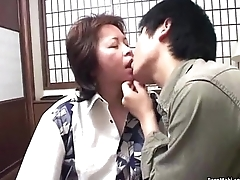 Asian mom gets nailed