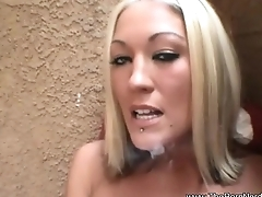 The Porn Nerd Spies On Sister Smoking