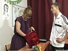 Russian mature teacher 11 - Elise (teacher'_s day)