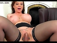 Beautiful mature on every side huge tits gets fucked