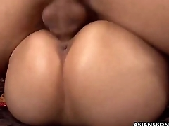 Big boobs and ass Asian sex slave made to intrigue b passion and suck