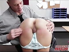 Cute High School Girl Punished At School - InnocentHighHD.com