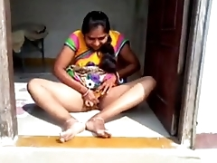 desi south aunty weird tease photograph