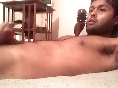 jacking off watching Indian daddy porn